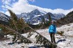 w górach zimą