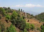 wzgórza w Nepalu